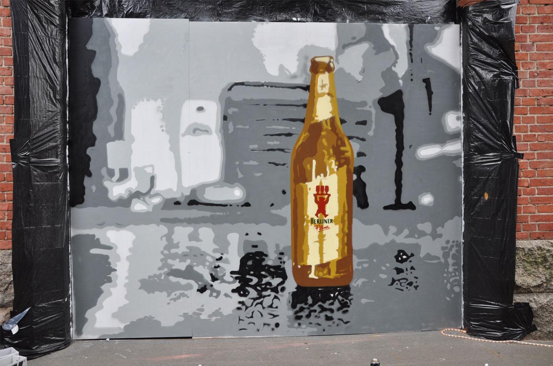Fassadengestaltung-Pilsner-Flasche