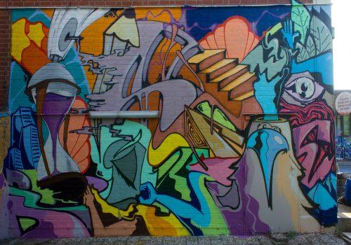 Berlin Mural Festival Aerosolikz Gesamtbild