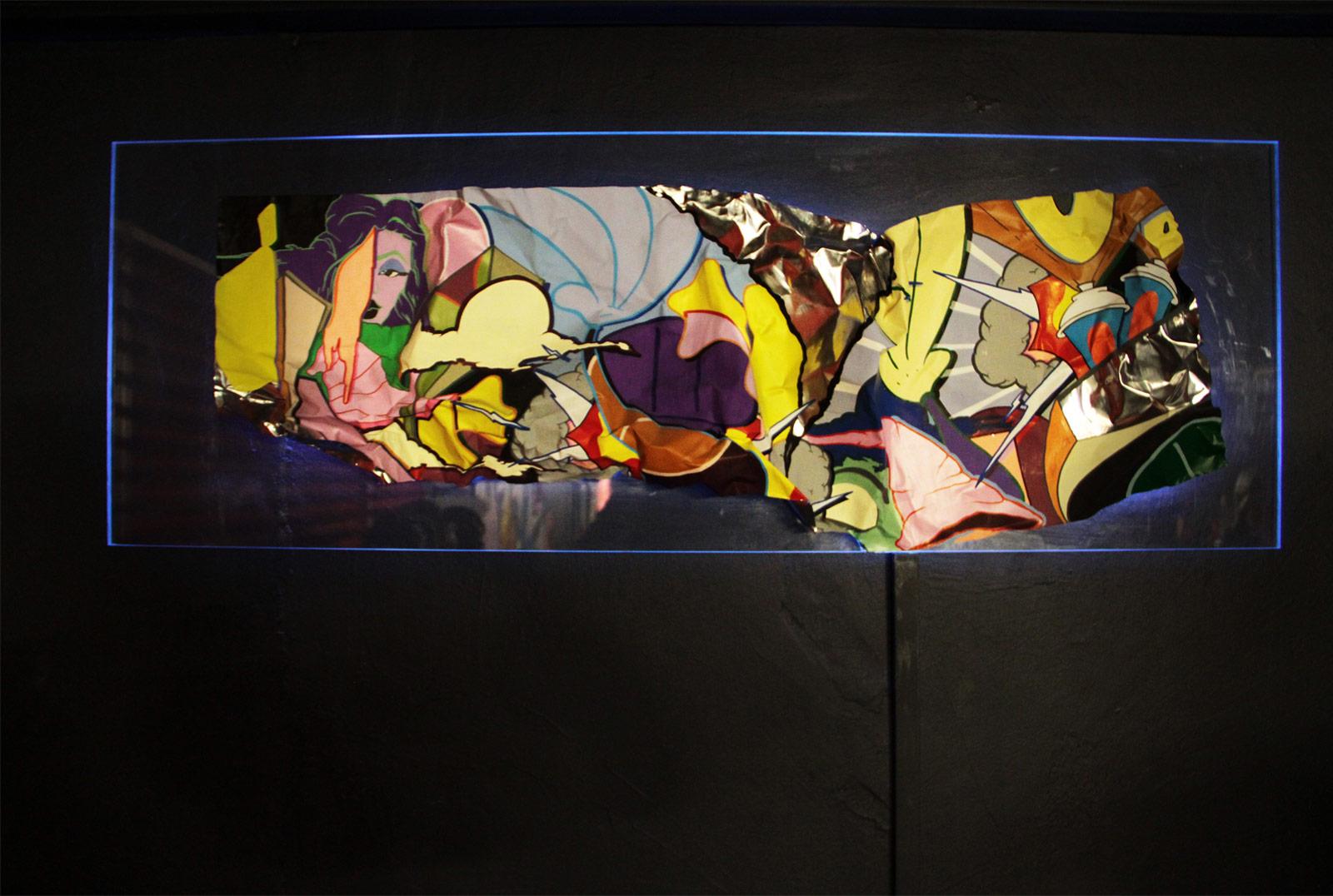 Leinwand Art In The Dark
